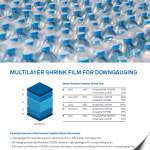 Multilayer Shrink Film for Downguaging: Issue One